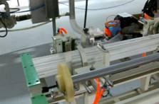 Pipe bundling machine,plastic pipe bundle packing machine